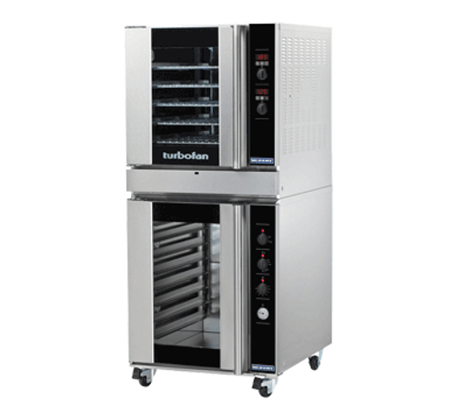 Moffat G32D5-P8M 5 Tray Full Size Gas Convection Oven, Digital Control - with P8M Proofer