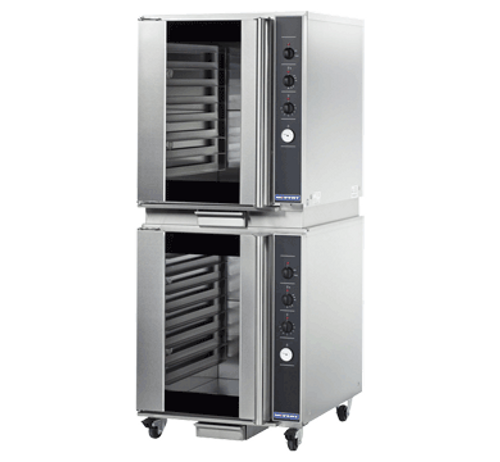 Moffat P8M/2 8 Tray Full Size Electric Proofer And Holding Cabinet, Manual Control - Doublestack