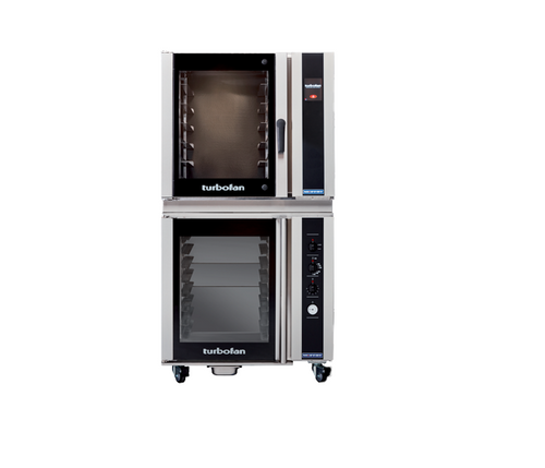 Moffat E35T6-26-P85M8 6 Tray Full Size Electric Convection Oven, Touch Screen Control - w/ P85M8 Proofer