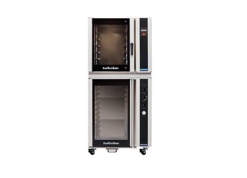 Moffat E35T6-26-P85M12 6 Tray Full Size Electric Convection Oven, Touch Screen Control - w/ P85M12 Proofer