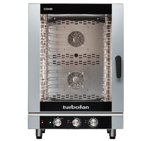 Moffat EC40M10-P 10 Tray Full Size Steam Pan Manual Control Electric Combi Oven - 208V
