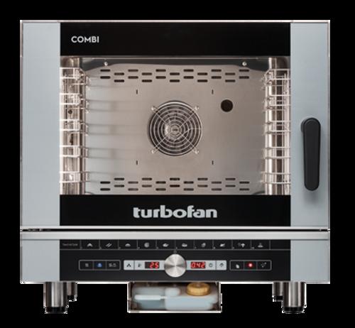 Moffat EC40D5-T 5 Tray Full Size Steam Pan Digital Electric Combi Oven - 240V