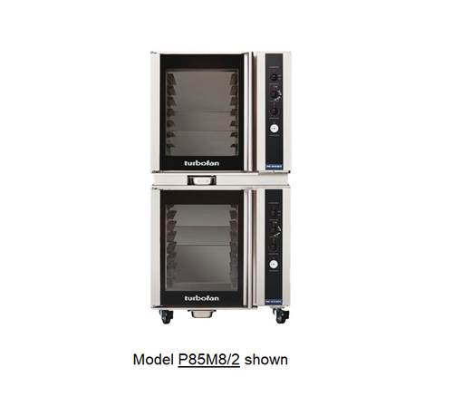 Moffat P85M8/2 8 Tray Full Size Electric Proofer And Holding Cabinet, Manual Control - Doublestack