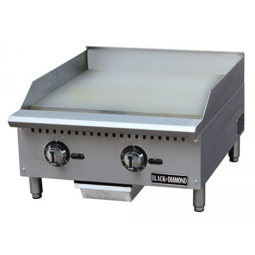 "Adcraft BDCTG-24T 24"" Thermostatic Gas Griddle"