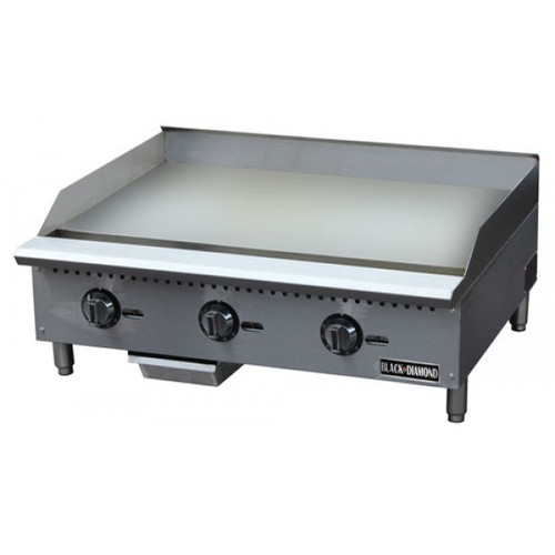 "Adcraft BDCTG-36T 36"" Thermostatic Gas Griddle"
