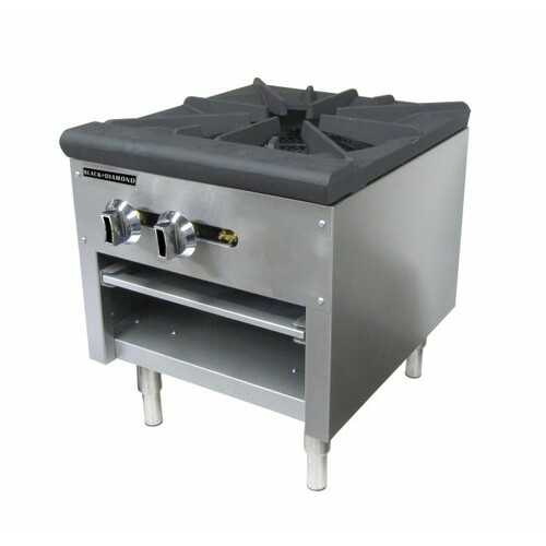 "Adcraft BDCTSP-1/NG 18"" Stock Pot Burner - 80K BTU"