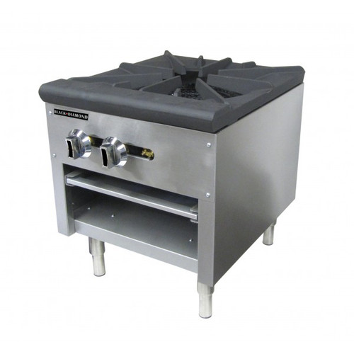 "Adcraft BDCTSP-1/NG 18"" Stock Pot Burner - 80K BTU"