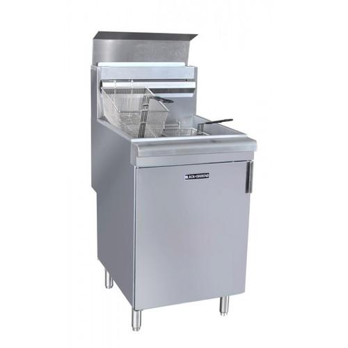 Adcraft BDGF-150/LPG 70 lb Propane Gas Deep Fryer - 150K BTU