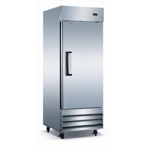 "Adcraft USRF-1D 29"" Solid Door Reach-In Refrigerator - 23 Cu. Ft."