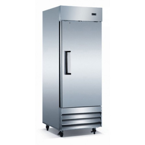 "Adcraft USFZ-1D 29"" Solid Door Reach-in Freezer - 23 Cu. Ft."