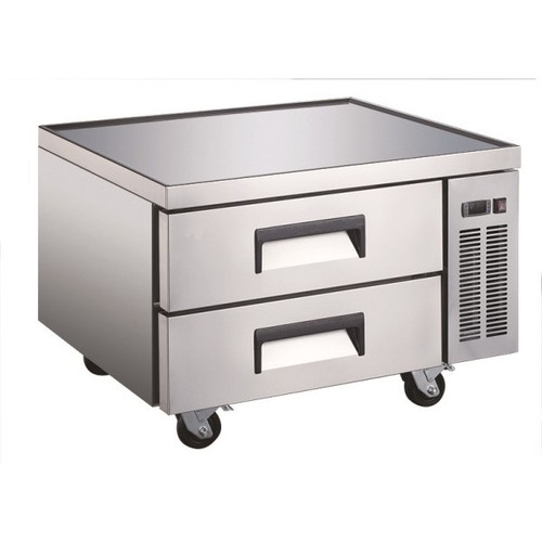 "Adcraft USCB-36 36"" Refrigerated Chef Base - 2 Pans"