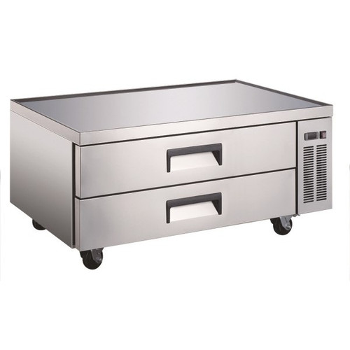 "Adcraft USCB-52 52"" Refrigerated Chef Base - 9 Pans"