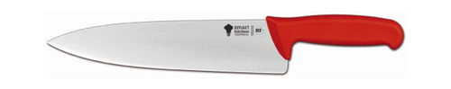 """Smart Kitchen Solutions 06-635R 10.25"""" Chef Knife, Red Handle"""