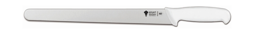 "Smart Kitchen Solutions 06-636W Large Ham Slicer, 12.5"", White Handle"