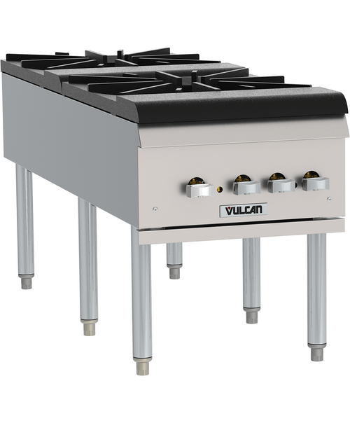 Vulcan VSP200F-2 220,000 Btu Stock Pot Range, Propane Gas (VSP200F-2)