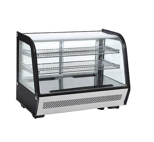 "Adcraft BDRCTD-160 35"" Refrigerated Countertop Display Case, 5.2 Cu./Ft."