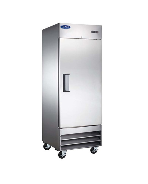 "Adcraft GRFZ-1D 29"" Solid Door Reach-in Freezer, 1 Section, 23 Cu./Ft."