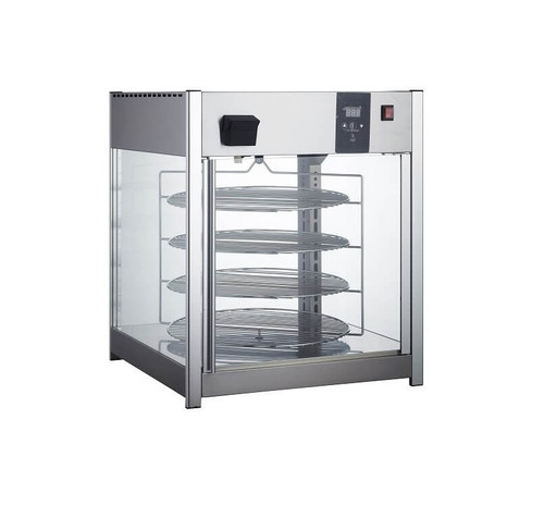 "Adcraft HDRP-158 25"" Rotating Pizza Display - 158 Liter"