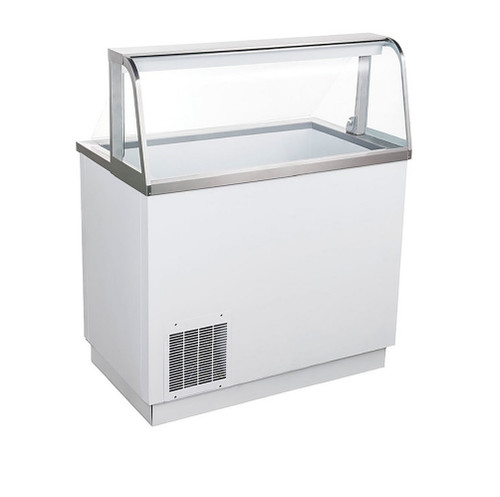 "Adcraft USDP-47 47"" U-Star Ice Cream Dipping Cabinet - 4 Gal. Cans"