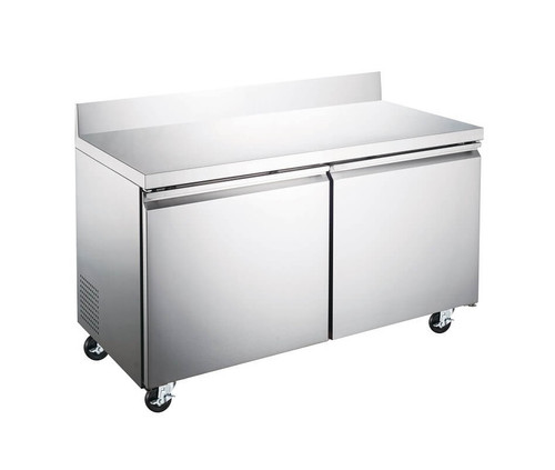 """Adcraft USWF-2D 47"""" Worktop Freezer, Two Section, 12 Cu/Ft"""