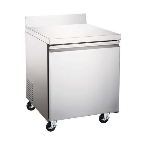"Adcraft USWR-1D 27"" Worktop Refrigerator, One Section, 6 Cu/Ft"