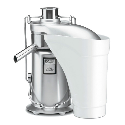 Waring JE2000 Heavy-Duty Stainless Steel Juice Extractor with Pulp Ejection (JE2000)