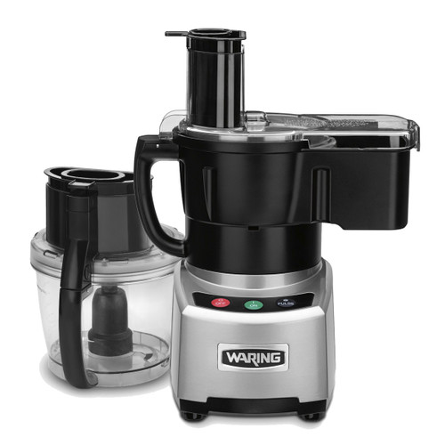 Waring WFP16SCD 4 Qt. Combination Bowl Cutter Mixer and Continuous-Feed Food Processor (WFP16SCD)