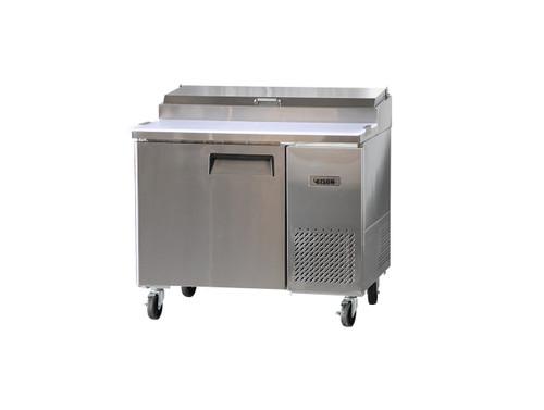 """Bison BPT-44 44"""" Pizza Prep Table - 1 Solid Door - 19 cu. ft. (BPT-44)"""