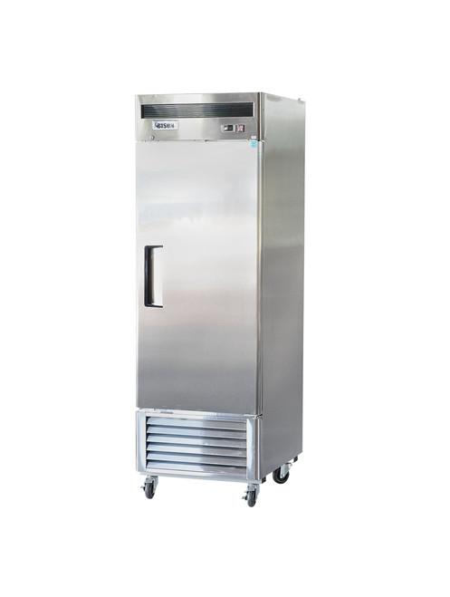 "Bison BRF-21 27"" Stainless Steel Reach-In Freezer - 1 Door - 21 cu.ft. (BRF-21)"