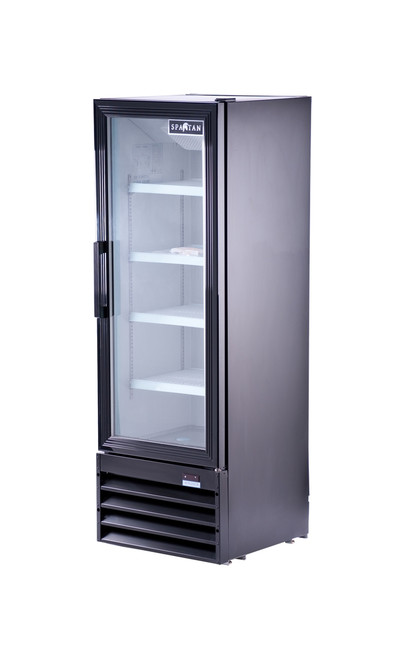 "Spartan SGM-10RV 21"" Reach-In Glass Door Refrigerator - 1 Door - 10 cu. ft. (SGM-10RV)"