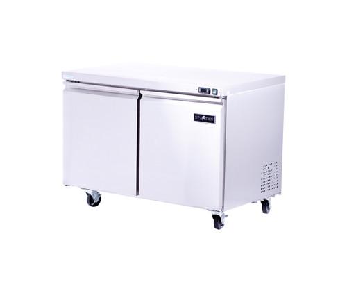 """Spartan SUR-48 47"""" Solid Door Undercounter Refrigerator - 12 cu. ft. (SUR-48)"""