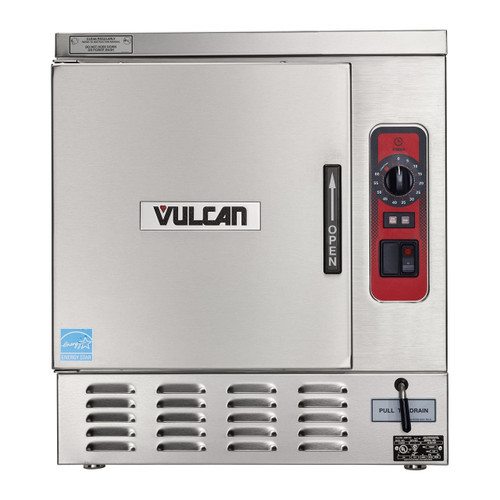 Vulcan C24EO5AF-1100 12kw Electric Convection Steamer w/ Auto-Fill - 5 Pan