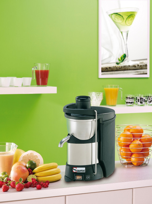 Santos 50 Juice Extractor, Black