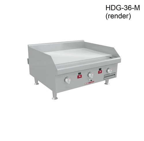 "Southbend HDG-36-M 36"" Countertop Gas Griddle, Manual, 60K BTU"