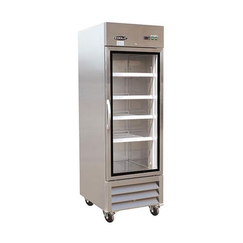 """Ikon Series IB27FG 26"""" Glass Door Freezer, 1 Door"""