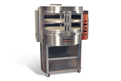 "Sierra VOLARE 50"" Rotary Deck Gas Pizza Oven, 90K BTU"