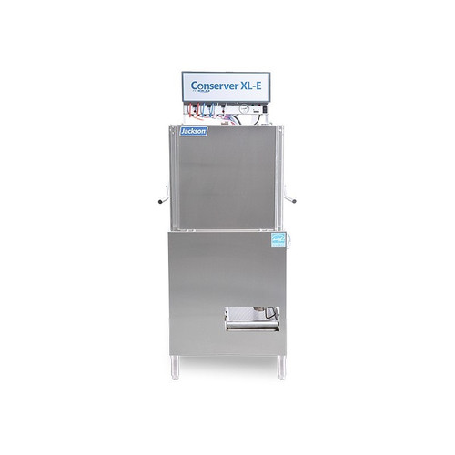 Jackson Conserver XL-E Chemical Sanitizing Single Rack Door-Type Dishmachine