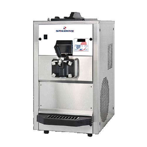 Spaceman 6228H Soft Serve Ice Cream Machine with 1 Hopper - 208/230V