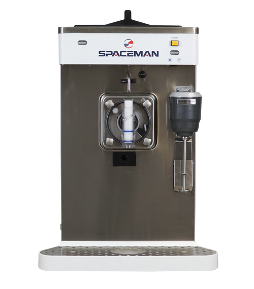 Spaceman 6690H-SH Slushy / Granita Stainless Steel Frozen Drink Machine w/ Shake - 208/230V