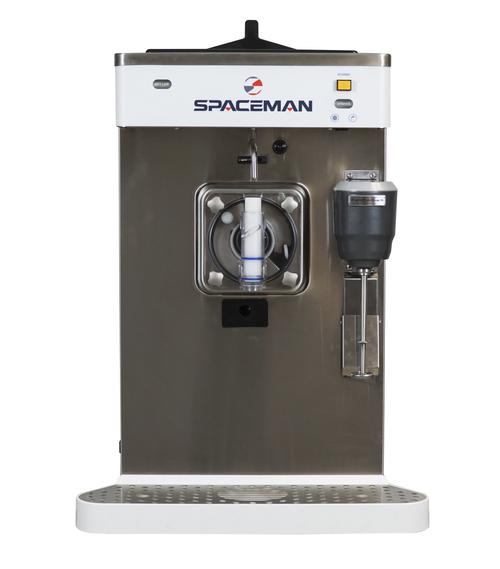 Spaceman 6690H-SH Slushy / Granita Stainless Steel Frozen Drink Machine w/ Shake - 208/230V