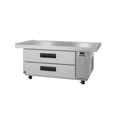 Hoshizaki CR60A, Refrigerator, Single Section Chef Base Prep Table, Stainless Drawers
