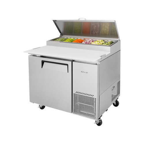 Turbo Air TPR-44SD-N Super Deluxe Pizza Prep Table - 1 Solid Door