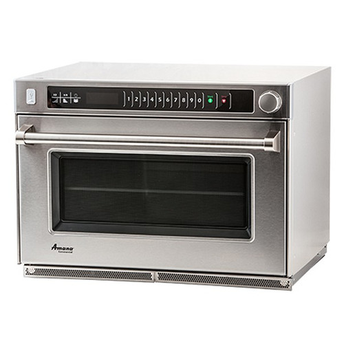 Amana AMSO22 Heavy Duty Commercial Steamer Microwave Oven - 208/240V, 2200W