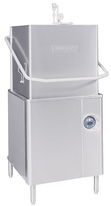 Hobart AM15-6 Door Type Dishwasher w/ Booster Heater, 208V, 1 Phase
