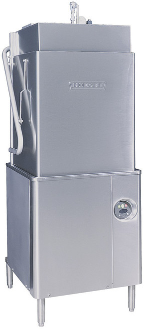 Hobart AM15T-2 Tall Chamber Door Type Dishwasher, w/ Booster Heater, 208V, 3 Phase