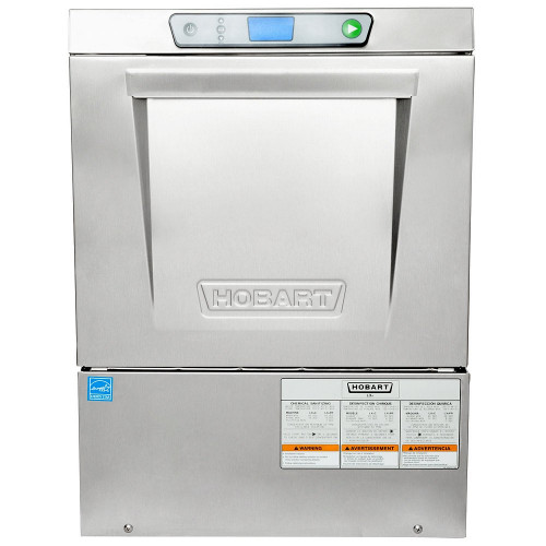 Hobart LXeC-3 Undercounter Diswasher with Chemical Sanitizing, 120V