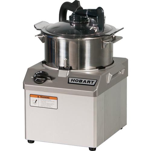 Hobart HCM61 Bowl Style Food Processor, 6 Quart, 120V, 1.5HP
