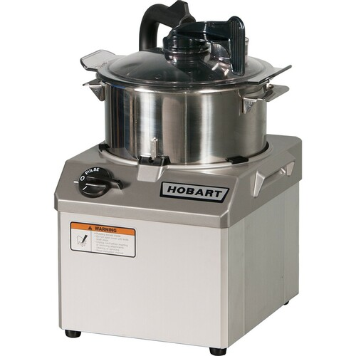Hobart HCM62 Bowl Style Food Processor, 6 Quart, 120V, 2HP