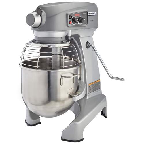Hobart HL200-1STD 20-Quart Planetary Mixer with Accessories, 120V, 1/2 hp