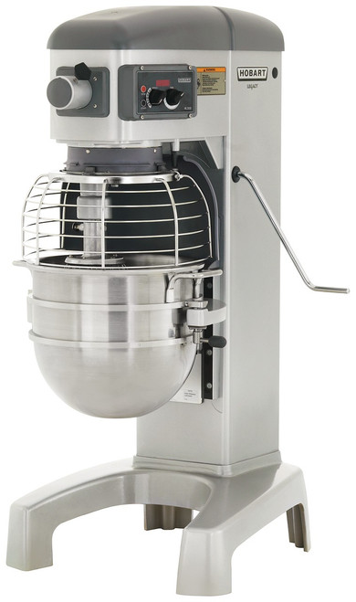 Hobart HL300-1STD 30-Quart Planetary Floor Mixer with Accessories, 200-240V, 3 Phase, 3/4 hp